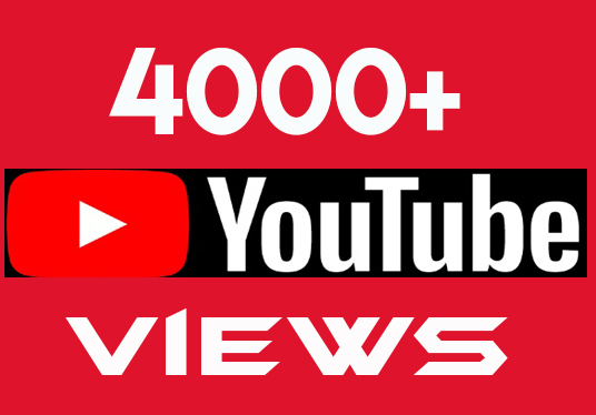 I will provide 4000 real and permanent youtube views