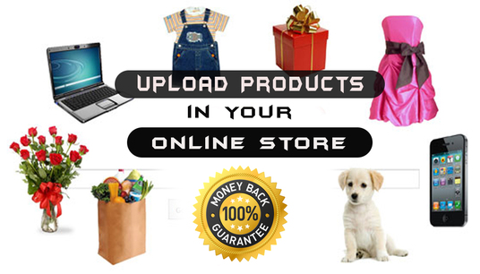I will Upload Online Product In Your Online Store