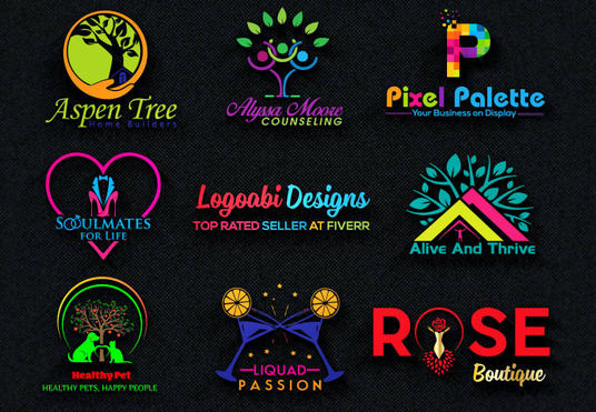 Design High quality, Unique and professional Vector logo