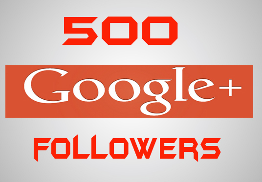 I will provide 500 Google plus followers
