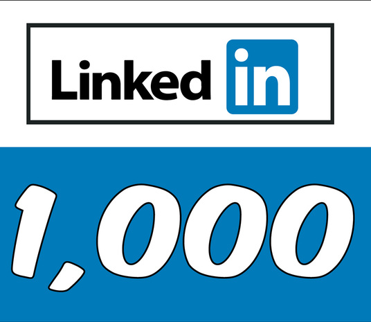 I will Add 1,000 LinkedIn Followers
