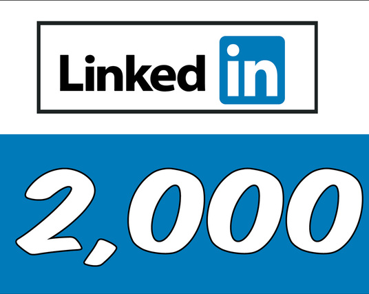 I will Add 2,000 LinkedIn Followers