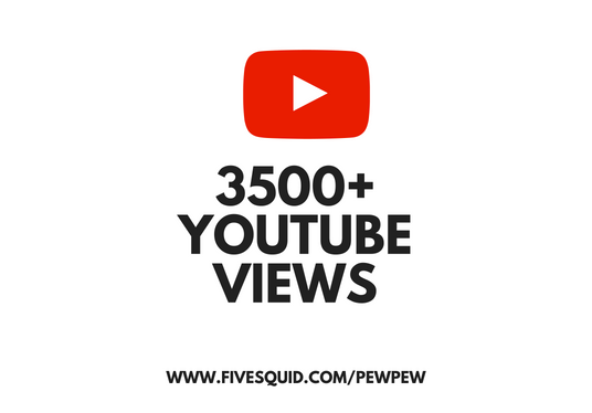 I will add 3500 views to your Youtube video