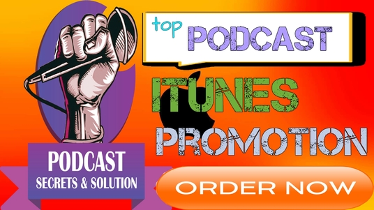 I will advertise and promote your podcast