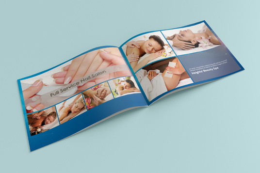 cccccc-Design 4 Page Brochure, Booklet, Catalog, Company Profile