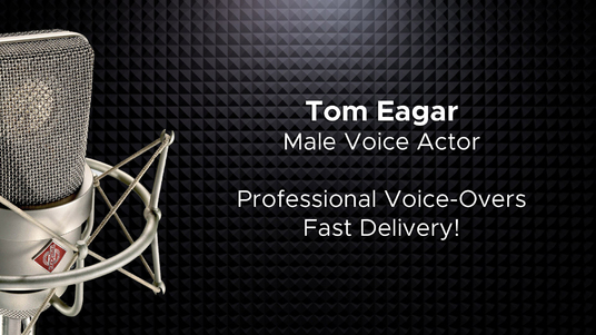 be your american male voice actor for any narration project