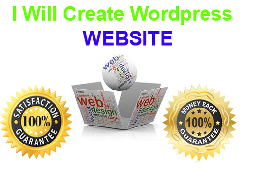 I will Create Wordpress Website Design
