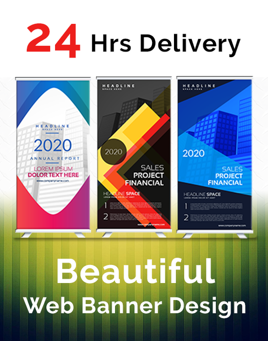I will Design Web Banner, Ads, Covers