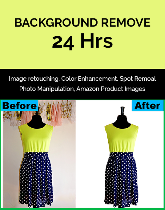 I will Cut Out, Background Removal Of 5 Images 24hrs