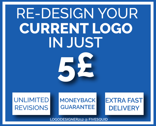 I will redesign your Logo