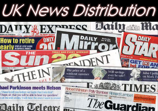 DISTRIBUTE your Press Release to all National UK Newspaper Editors and/or Regional or Local News media