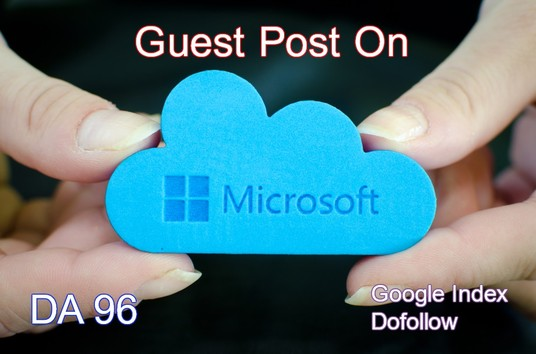 I will Do Guest Post On Microsoft DA 96