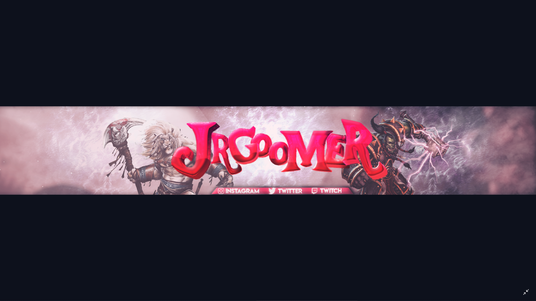 I will design a 2 youtube or facebook banner