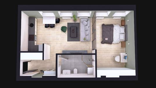 I will create amazing 3d floor plan for your home or business. fast delivery, amazing quality and