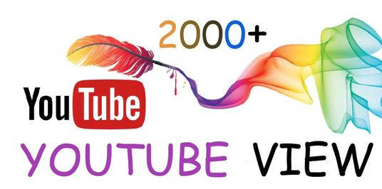 I will Provide 2000+ Real YouTube views only