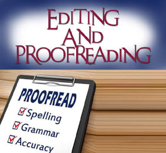 I will professionally proofread, edit and correct any English article, essay or script