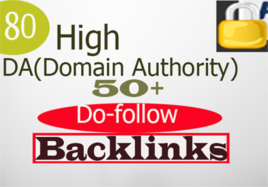 I will Do High Domain Authority Backlinks Da 50 Plus
