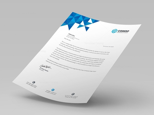 design letterhead for you