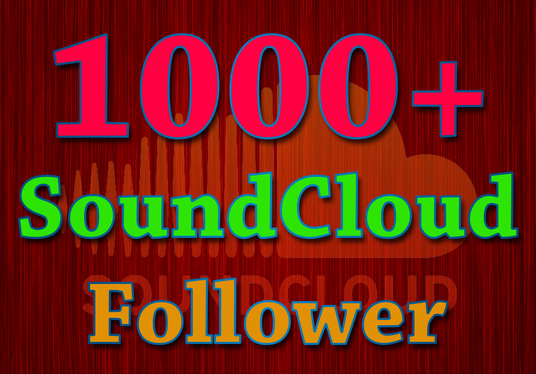 I will send you 1000 USA Soundcloud followers with 60 days refill guarantee