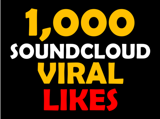 I will send you 1000 USA Soundcloud Likes or Repost with 60 days refill guarantee