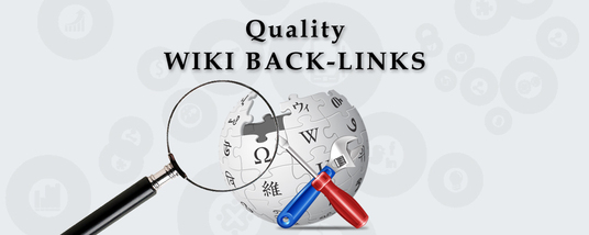 I will Create Unlimited contextual Wiki Backlinks from 3,000 Wiki Articles