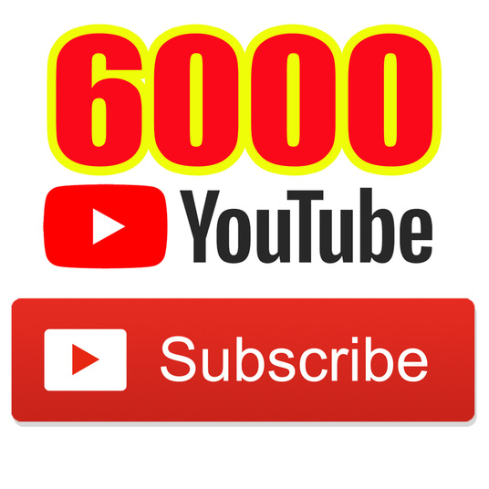 I will Add for You 6000+ Real YouTube Subscribers