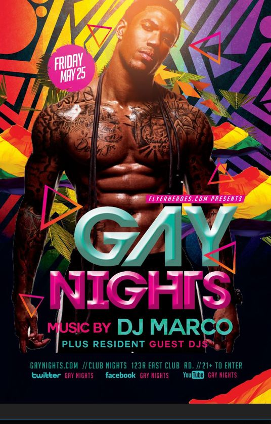 I will design a flyer for an LGBT Event