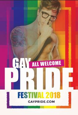design a flyer for an LGBT Event