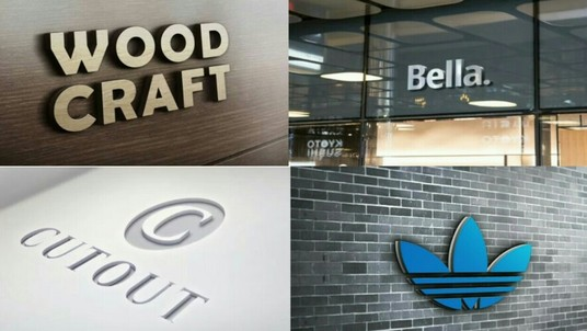 I will Design 15 photorealistic 3D logo mockup for you in 24 hours