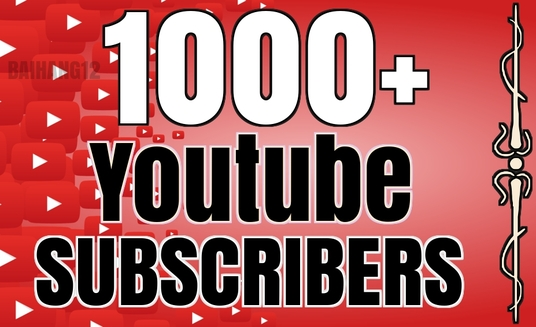 I will Add 1000+ Youtube Subscribers