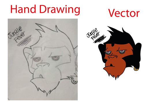 Convert Your Logo or Hand Drawing Image Into Vector