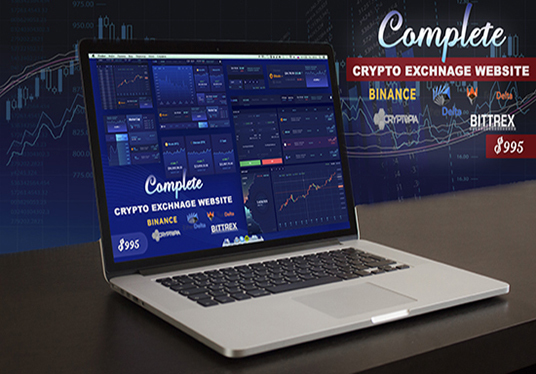 I will make decentralized crypto exchange website  like Idex