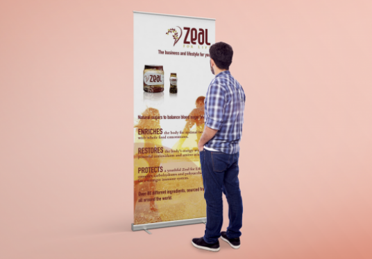 create your roller banner