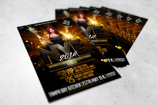 I will create professional flyer or poster