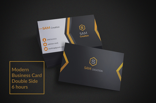 I will Create Modern And Professional Business Cards