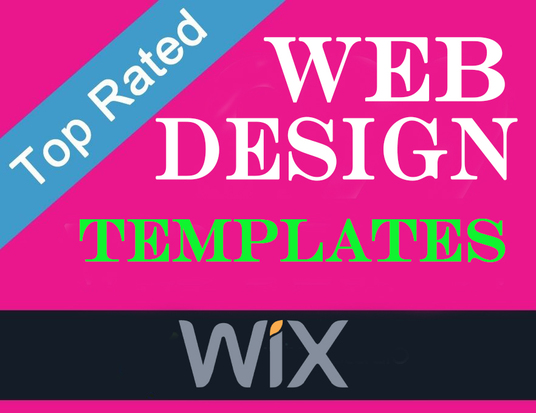 I will setup your WIX account with 2 templates