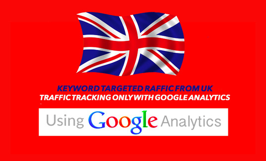 I will Provide  300-450 Daily UK Keyword Visitor for 30 days