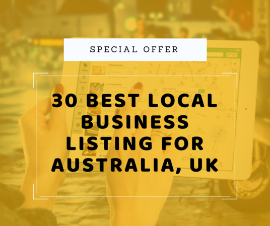 I will Do 30 Best Local Business Listing For Your Business