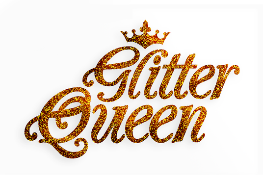 I will create a unique GLITTER LOGO