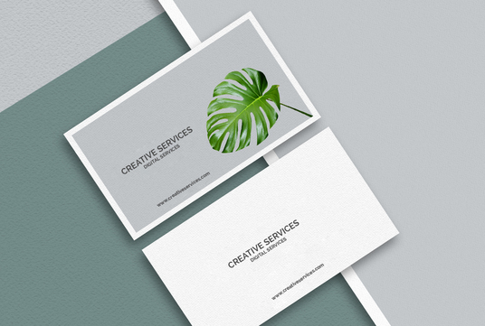 design business card or letterhead or stationery