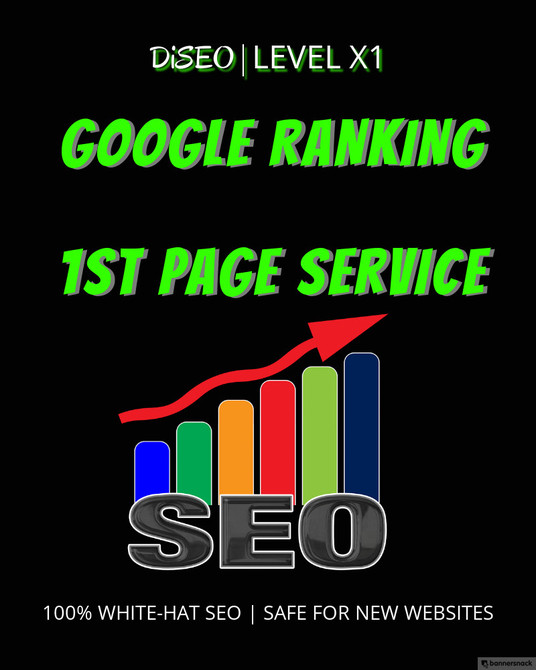 I will Push Your Website To Google 1st Page  - High Authority Manual 3 Tier Link Pyramid