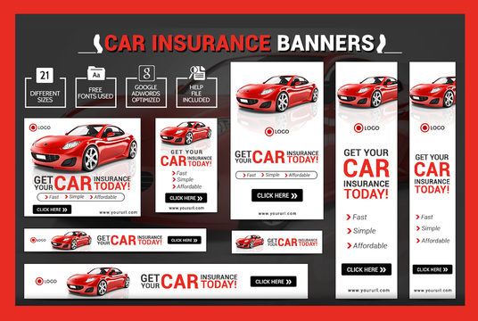I will Design Adwords Banner, Web Header, Web Ads for you