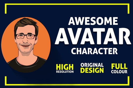 I will Draw Awesome avatar Character For You