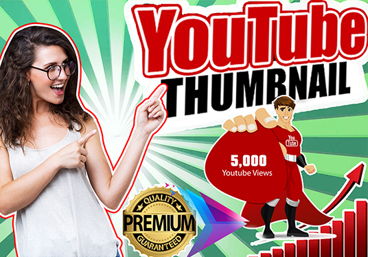 Do Catchy YouTube Thumbnail Fast