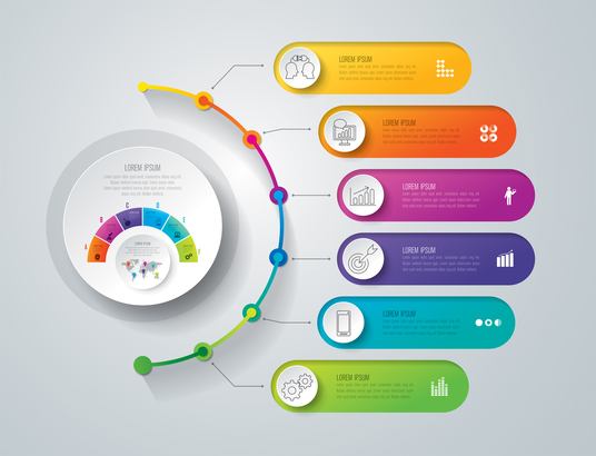 I will design professional Infographics for you
