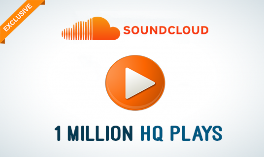 I will Add you 1 Million Top Quality SoundCloud Plays