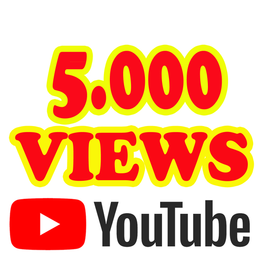 I will Give you 5000 Youtube Views