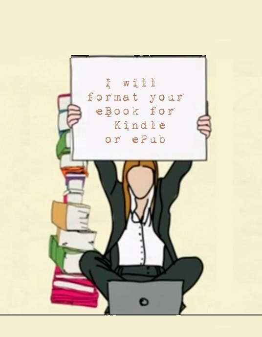 I will Professionally  Format Ebook For Kindle Or Epub