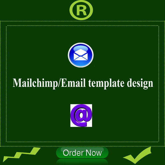I will Design Mailchimp Newsletter Template