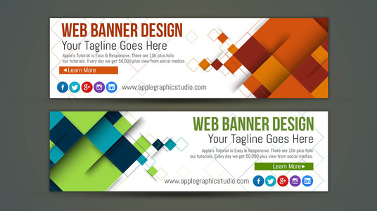 I will do professional banner design